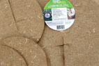 Jardifeutre, disc of hemp felt for plant protection
